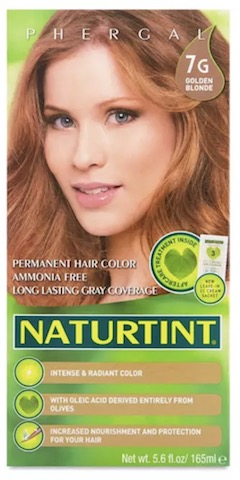 Image of Naturtint Permanent Hair Colorant, Golden Blonde (7G)