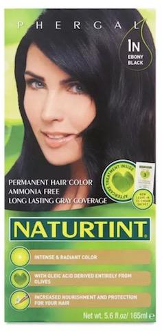 Image of Naturtint Permanent Hair Colorant, Ebony Black (1N)