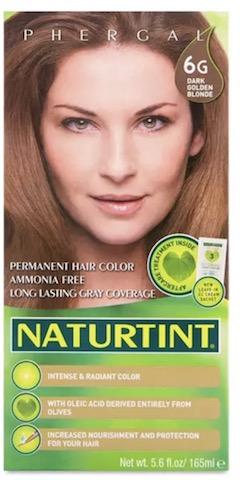 Image of Naturtint Permanent Hair Colorant, Dark Golden Blonde (6G)