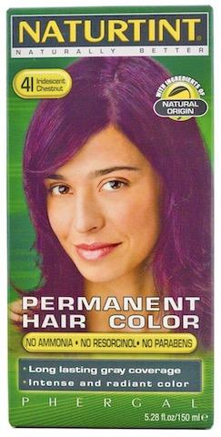 Image of Naturtint Permanent Hair Colorant, Iridescent Chestnut (4I)