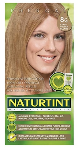 Image of Naturtint Permanent Hair Colorant, Sandy Golden Blonde (8G)