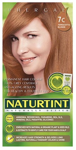 Image of Naturtint Permanent Hair Colorant, Terracotta Blonde (7C)