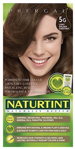 Image of Naturtint Permanent Hair Color, Light Golden Chestnut (5G)