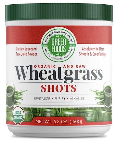 Image of Wheat Grass Shots Powder (30 Servings)