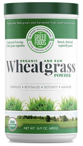 Image of Wheat Grass Powder Organic & Raw