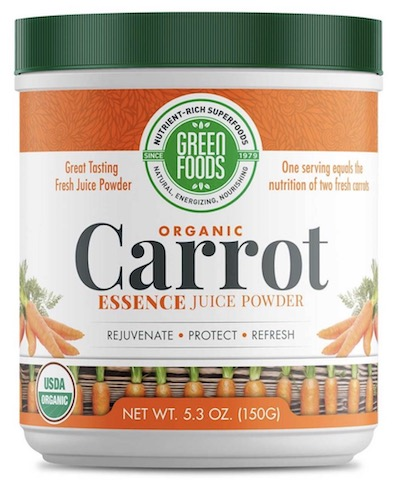 Image of Carrot Essence Juice Powder Organic