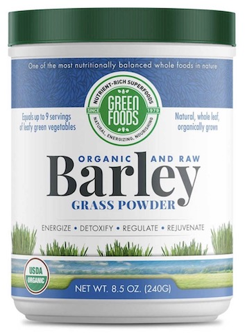 Image of Barley Grass Whole Leaf Powder Organic & Raw