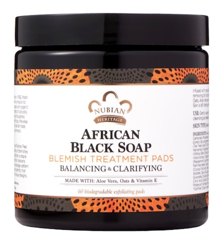 Image of African Black Soap Blemish Treatment Pads