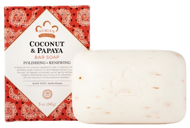 Image of Coconut & Papaya Bar Soap