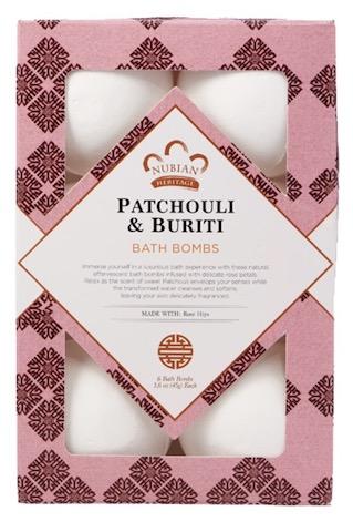 Image of Pathouli & Buriti Bath Bombs