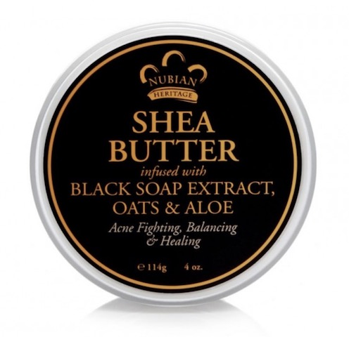 Image of African Black Soap Infused Shea Butter
