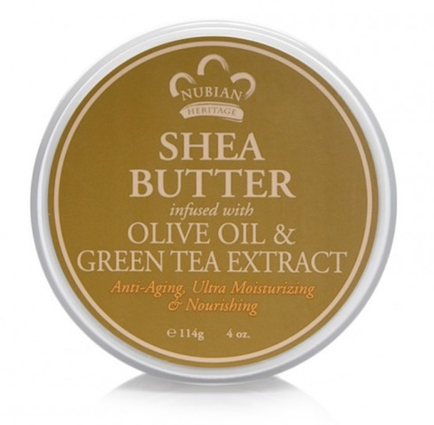 Image of Olive Oil & Green Tea Infused Shea Butter