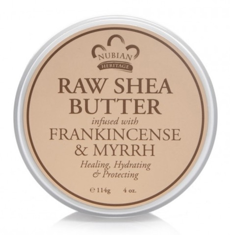 Image of Raw Shea Butter Infused with Frankincense & Myrrh
