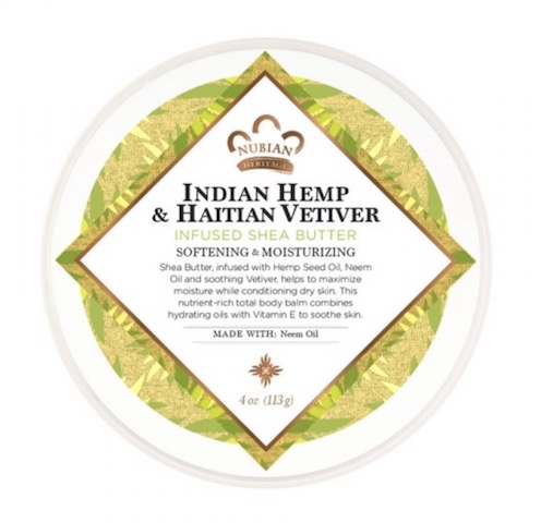 Image of Indian Hemp & Haitian Vetiver Infused Shea Butter