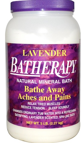Image of BaTherapy Mineral Bath Salts Lavender