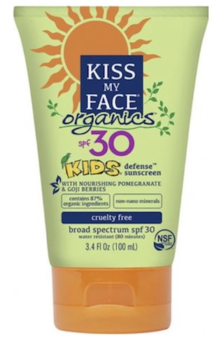 Image of Kids Sunscreen Organics Defense Mineral SPF 30
