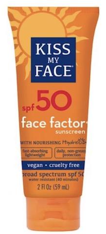 Image of Sunscreen Face Factor SPF 50