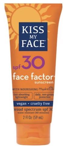 Image of Sunscreen Face Factor SPF 30