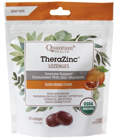 Image of TheraZinc Lozenges Organic Blood Orange