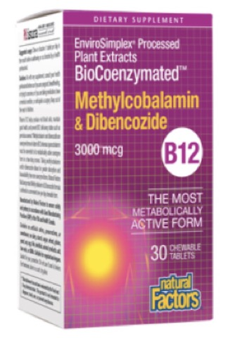 Image of BioCoenzymated Methylcobalamin & Dibencozide 3,000 mcg Chewable