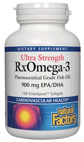Image of RxOmega-3 ULTRA STRENGTH (enteric coated)