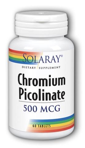 Image of Chromium Picolinate 500 mcg