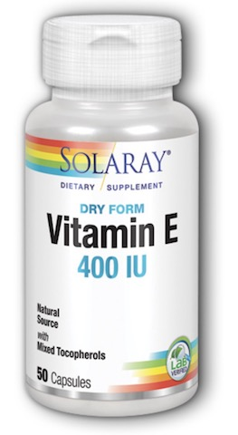 Image of Vitamin E 400 IU with Mixed Tocopherols Dry Form
