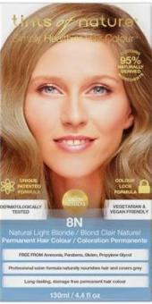 Image of 8N Natural Light Blonde Permanent Hair Dye