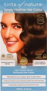 Image of 5D Light Golden Brown Permanent Hair Dye