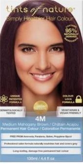 Image of 4M Medium Mahogany Brown Permanent Hair Dye