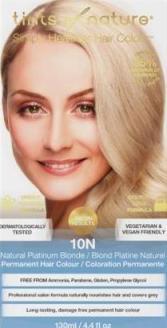 Image of 10N Natural Platinum Blonde Permanent Hair Dye