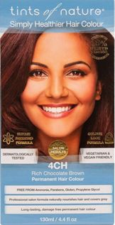Image of 4CH Rich Chocolate Brown Permanent Hair Dye