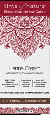 Image of Henna Cream Light Brown