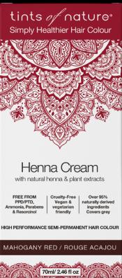 Image of Henna Cream Mahogany Red