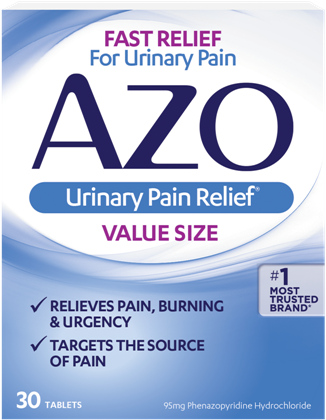 Image of AZO Standard Urinary Pain Relief