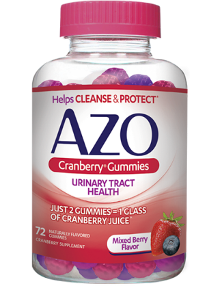 Image of AZO Cranberry Gummies