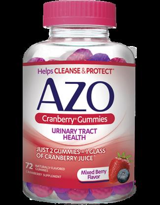 Image of AZO Cranberry Gummies
