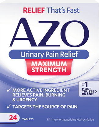Image of AZO Urinary Pain Relief - Maximum Strength