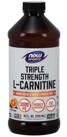 Image of L-Carnitine Liquid 3000 mg Triple Strength Citrus
