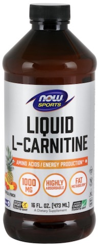 Image of L-Carnitine Liquid 1000 mg Tropical Punch