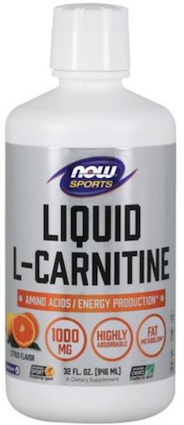 Image of L-Carnitine Liquid 1000 mg Citrus