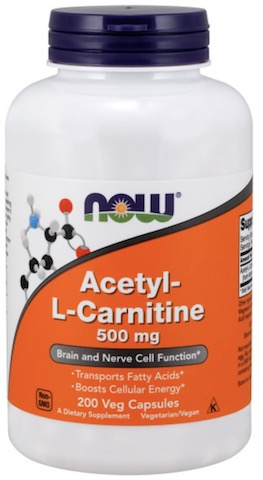 Image of Acetyl-L-Carnitine 500 mg