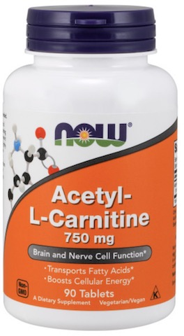 Image of Acetyl-L-Carnitine 750 mg Tablet