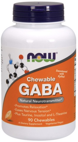 Image of GABA 250 mg Chewable (with Taurine, Inositol & L-Theanine)