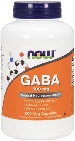 Image of GABA 500 mg with B-6