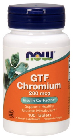 Image of GTF Chromium 200 mcg