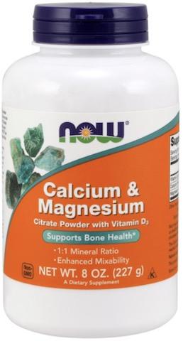 Image of Calcium & Magnesium Citrate Powder