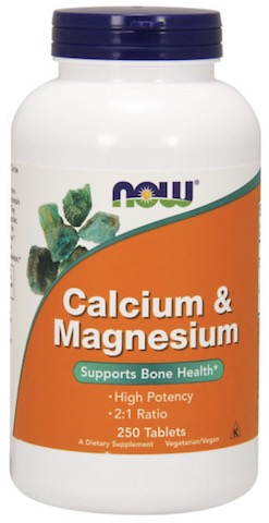 Image of Calcium & Magnesium High Potency 500/250 mg