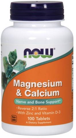 Image of Magnesium & Calcium Reverse 1:2 Ratio with Zinc & D3