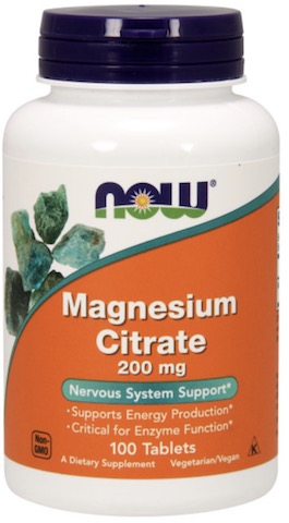 Image of Magnesium Citrate 200 mg Tablet